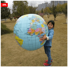 Inflatable Globe Large Ball Toy